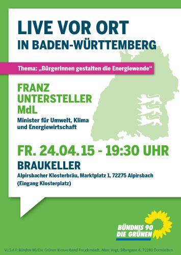 Flyer Einladung Franz Untersteller Alpirsbach KV FDS-1