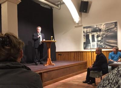 Impulsvortrag Minister Franz Untersteller